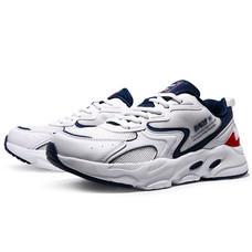 BAOJI รองเท้าผ้าใบชาย รุ่น BJM572-สีขาว/กรม