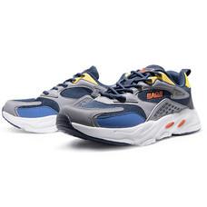 BAOJI รองเท้าผ้าใบชาย รุ่น BJM576-สีกรม/เทา