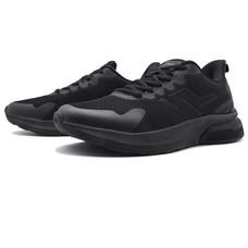 BAOJI รองเท้าผ้าใบชาย รุ่น BJM586-สีดำ