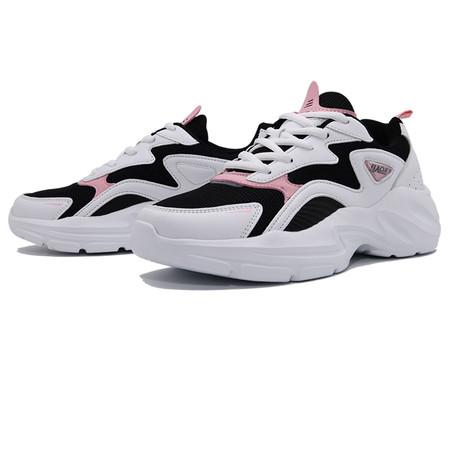BAOJI รองเท้าผ้าใบหญิง รุ่น BJW730-สีขาว/ดำ