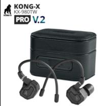 [ประกันศูนย์ไทย] Kong-X KX-980TW Pro V.2 รุ่นใหม่ หูฟัง Hybrid ระดับพระกาฬ เสียงคมชัด จัดเต็มทุกย่าน กันน้ำ IPX5 รองรับ