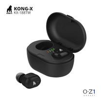 Kong-X KX-K188TW หูฟัง True Wireless ตัวเล็ก พกง่าย กันเหงื่อ Bluetooth 5.0 เสียงคมชัด ระบบสัมผัส มี Wireless Charge