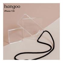 hangoo iPhone 7/8  เคสมือถือพรีเมี่ยม กันกระแทก แบบสะพายข้าง