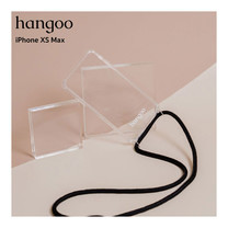 hangoo เคสมือถือพรีเมี่ยม กันกระแทก แบบสะพายข้าง สำหรับ iPhone XS Max