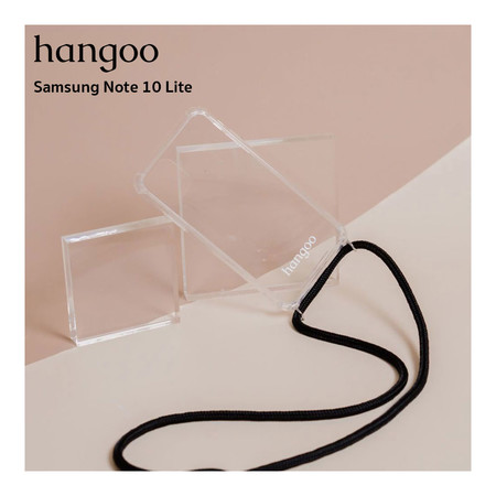 hangoo Samsung Note 10 lite เคสมือถือพรีเมี่ยม กันกระแทก แบบสะพายข้าง