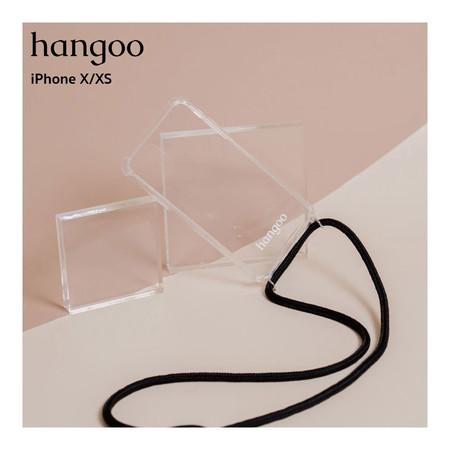 hangoo เคสมือถือพรีเมี่ยม กันกระแทก แบบสะพายข้าง สำหรับ iPhone X/XS