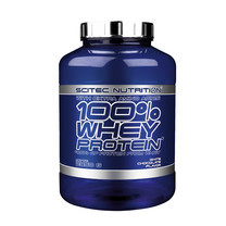 SCITEC NUTRITION Whey Protein , เวย์โปรตีน (100% Whey Protein White Chocolate 2350g) เวย์โปรตีนสูตรเพิ่มกล้ามเนื้อ