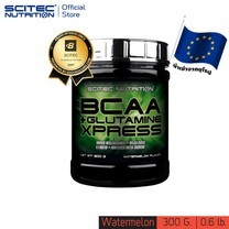 SCITEC NUTRITION BCAA+ Glutamine Watermelon 300g (กรดอะมิโนบีซีเอเอ กลูตามีน)