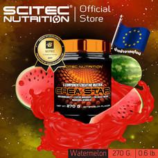 SCITEC NUTRITION Creastar Watermelon 270g (Creatine ครีเอทีน รสแตงโม)