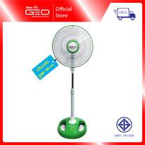Geo พัดลมตั้งพื้น ปรับระดับ 16 นิ้ว Stand Fan - รุ่น ST-161 สีเขียว