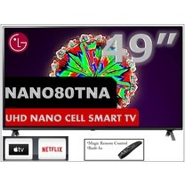 "LG 49"" NanoCell 4K Smart TV รุ่น 49NANO80"