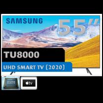 "SAMSUNG 55"" UHD SMART TV 55TU8000"