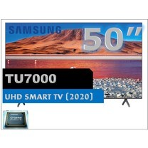"SAMSUNG 50"" TU7000 Crystal UHD 4K Smart TV (2020) 50TU7000"