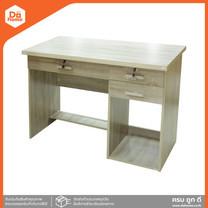 SMART FORM โต๊ะทำงานไม้ ขนาด 1 เมตร รุ่น A-01 สีโอ๊ค [สินค้าไม่ประกอบ] |LAN|