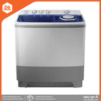 SAMSUNG เครื่องซักผ้าถังคู่ 14 กก. รุ่น WT16J8LEC [ไม่รวมติดตั้ง] |MC|