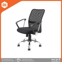 SMART OFFICE เก้าอี้สำนักงาน ชนิดผ้า รุ่นโอด้า สีดำ  AB 