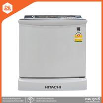 HITACHI เครื่องซักผ้า 2 ถัง 12 กก. รุ่น PS-120LJ (DGR) [ไม่รวมติดตั้ง] |MC|