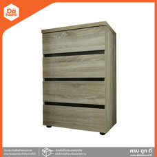 SMART FORM ตู้ลิ้นชักไม้ ขนาด 60 ซม. รุ่น D603 สีพรีเมียร์โอ๊ค [ไม่รวมประกอบ] |LAN|