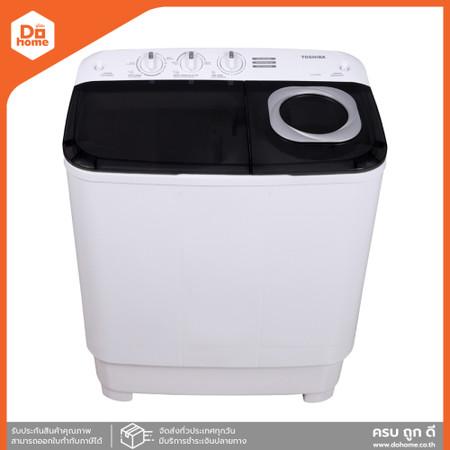 TOSHIBA เครื่องซักผ้า 2 ถัง ขนาด 7.5 กก. รุ่น VH-H85MT [ไม่รวมติดตั้ง] |MC|