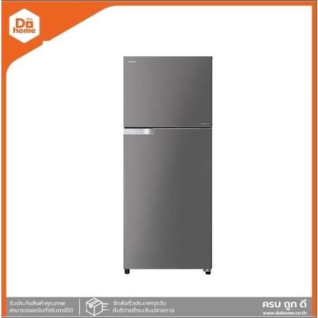 TOSHIBA ตู้เย็น 2 ประตู 12.8 คิว INVERTER รุ่น GR-A41KBZ (DS) สีเทาดำ [ไม่รวมติดตั้ง] |MC|