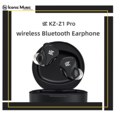 KZ Z1 Pro หูฟังอินเอียร์ไร้สาย ไดร์เวอร์ Dynamic Bluetooth 5.2 มีโหมดลดดีเลย์ กันเหงื่อ IPX6 รับประกันศูนย์ไทย 6 เดือน