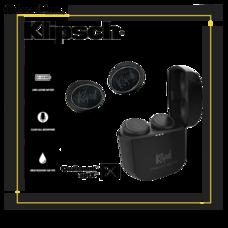 หูฟังไร้สาย Klipsch T5 True Wireless [Triple black Edition] หูฟังไร้สายระดับ ไฮ-เอนด์ มีไมค์ Clear voice 4 ตัวช่วยตัดเสียงรบกวน ต่อเนื่องได้สูงสุด 8 ชั่วโมง มีมาตรฐานกันน้ำ IPX4 สินค้าประกันศูนย์ไทย