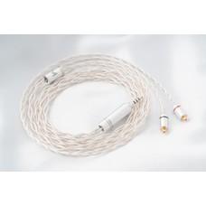 สายอัพเกรดหูฟัง The Cable Master Monet 8 Wired ถัก 8 (ขั้ว 2pin/แจ็ค 4.4 Rhodium)ทองแดงชุบเงิน 7N UP-OCC Silver Plated Copper ประกันศูนย์ไทย 6 เดือน