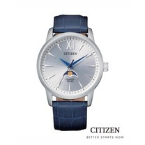 CITIZEN AK500 Moon Phase Men's Watch Quartz ( นาฬิกาข้อมือผู้ชายระบบถ่าน )