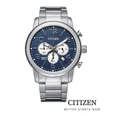 CITIZEN AN8050-51M / AN8052-55P / AN8054-50E Chronograph Men's Watch Quartz ( นาฬิกาข้อมือผู้ชายระบบถ่าน )