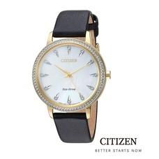CITIZEN Eco-Drive FE7042-07D Swarovski Lady's Watch ( นาฬิกาข้อมือผู้หญิงระบบพลังงานแสง )
