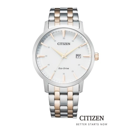 CITIZEN Eco-Drive BM7466-81H / BM7466-81L Men's Watch ( นาฬิกาข้อมือผู้ชายระบบพลังงานแสง )