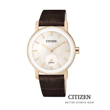 CITIZEN EQ9063-04D Lady Watch Quartz ( นาฬิกาข้อมือผู้หญิงระบบถ่าน )