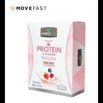 Kimberlite คิมเบอร์ไลท์ 5 Protein & Vitamin รสมิกซ์เบอร์รี่ 1 กล่อง