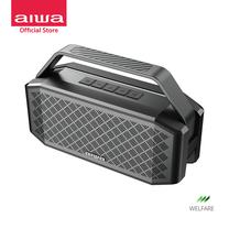 AIWA Lunatic Bluetooth Speaker ลำโพงบลูทูธพกพา กันน้ำระดับ IPX6