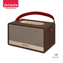 AIWA Retro Heritage Bluetooth Speaker ลำโพงบลูทูธพกพา BASS++
