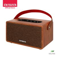 AIWA Retro Plus X Bluetooth Speaker ลำโพงบลูทูธพกพา BASS++