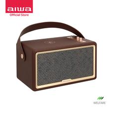 AIWA Oracle Bluetooth Speaker ลำโพงบลูทูธพกพา รองรับ Wireless Charging Soft Sound++