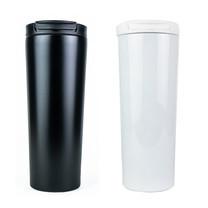 กระบอกน้ำพกพา กระบอกน้ำเก็บความเย็น กระบอกน้ำเก็บน้ำร้อน ขวดน้ำ 500ml สแตนเลส 304 ทรงตรง