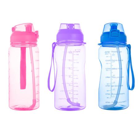 กระบอกน้ำ พลาสติก ขนาดใหญ่ 1600 ml