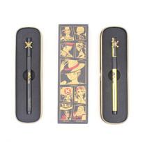 M&G QGPY1709B ปากกาเจลปลอก Premium ลิขสิทธิ์วันพีช ONE PIECE หมึกดำ 0.5 mm + แถมเพิ่ม ไส้ปากกาเจลหมึกน้ำเงิน G5 1 ชิ้น