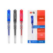 M&G GP1111 ปากกาเจลปลอก GEL PEN 0.7 mm. หมึกมีให้เลือก 3 สี (สีน้ำเงิน.สีดำ.สีแดง) กล่องละ 12 ด้าม - เอ็มแอนด์จี เครื่องเขียน