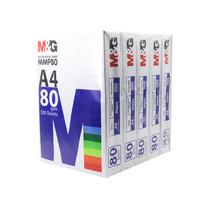 M&G MMP80 กระดาษ A4 80 แกรม จำหน่ายแพ็ค 5 รีม (2,500 แผ่น)
