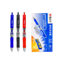 M&G K-35 ปากกาเจลกด GEL PEN 0.5 mm. กล่องละ 12 ด้าม มีให้เลือก 3 สี (สีน้ำเงิน,สีดำ,สีแดง) - เอ็มแอนด์จี เครื่องเขียน