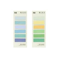 M&G AJDN7377 กระดาษโพสอิท กระดาษโน๊ต Stick Note สติ๊กโน๊ต ขนาด 15x47 mm. จำหน่าย แพ็คคละสี 4 ชิ้น