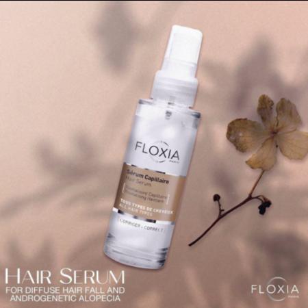 Floxia Hair Serum 50 ml.ลดผมร่วง ไม่ง้อ minoxidil แก้ปัญหาที่ต้นเหตุทำให้รากผมแข็งแรง รับประกัน ขนและผมขึ้นแน่นไม่พึ่งยา