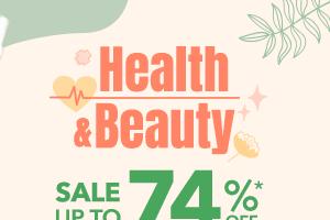 Health & Beauty Sale up to 74% b2